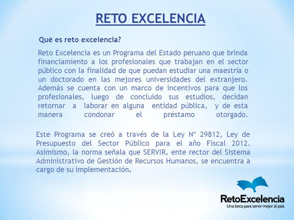 Este Programa se creó a través de la Ley Nº 29812, Ley de Presupuesto del Sector Público para el año Fiscal 2012.