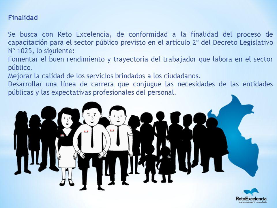 Reto Excelencia busca fomentar que el profesional que ha sido beneficiado con un crédito para realizar sus estudios de posgrado en el extranjero, al retornar al país, decida regresar a laborar en el Estado peruano.