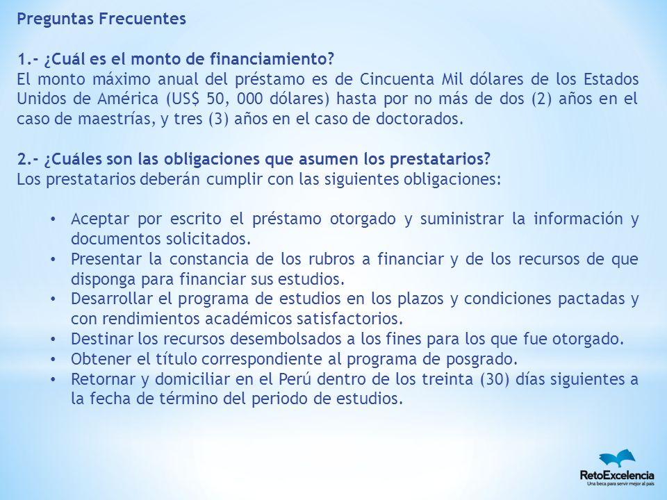 3.- ¿Cuáles son las garantías previstas para el préstamo.