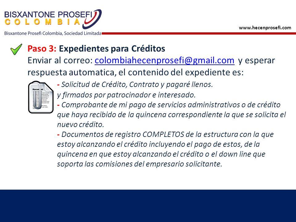 Paso 4: Recibe el depósito de tu crédito Consistencia Estoisismo www.hecenprosefi.com