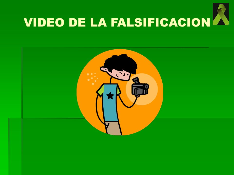 VIDEO DE LA FALSIFICACION