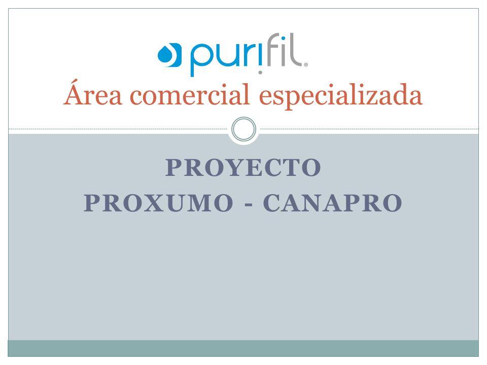PROYECTO PROXUMO - CANAPRO Área comercial especializada