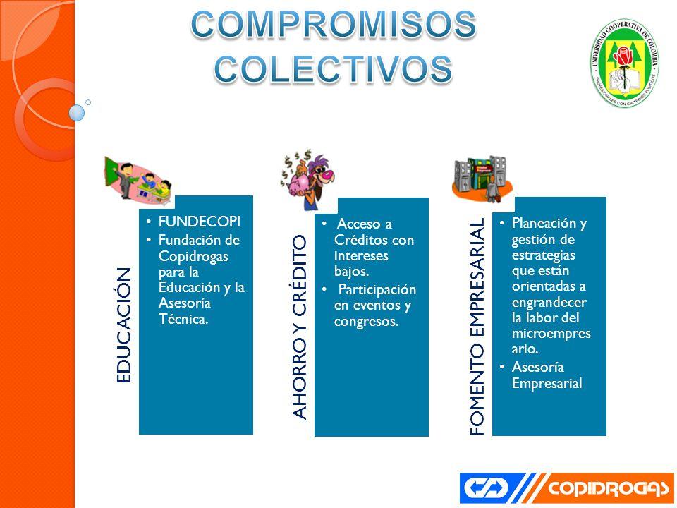 EDUCACIÓN FUNDECOPI Fundación de Copidrogas para la Educación y la Asesoría Técnica.