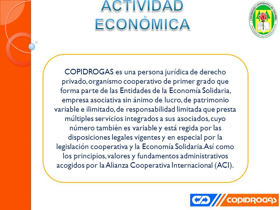 Las estrategias gerenciales utilizadas por Copidrogas, se reconocen por tener buenas instalaciones, por contar con soluciones tecnológicas y comunicaciones de agilización de sus operaciones, entre otras.