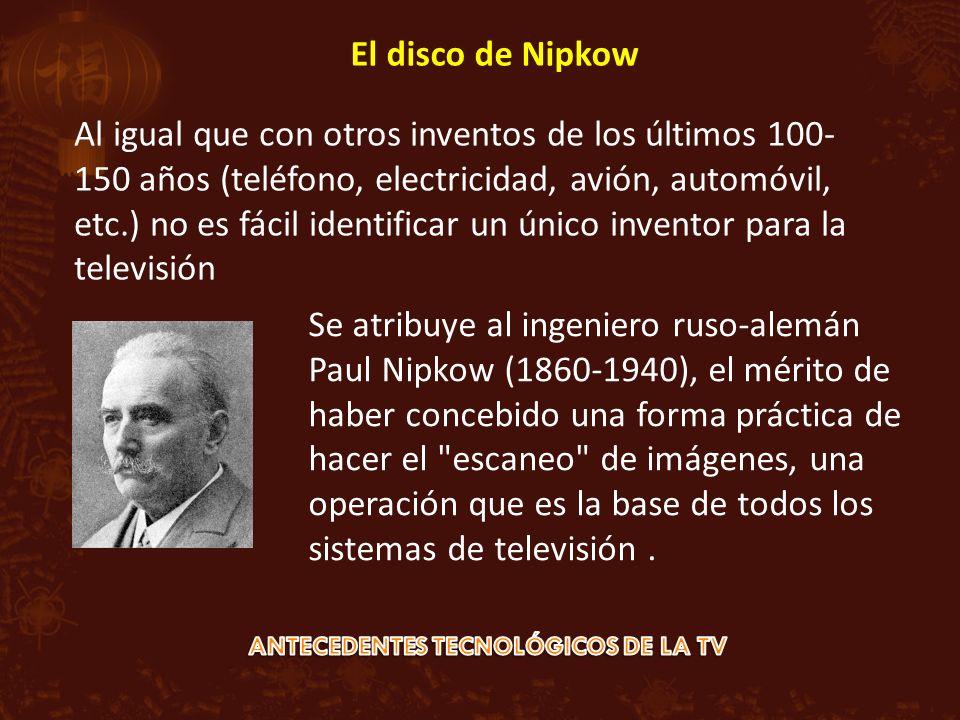 Al igual que con otros inventos de los últimos 100- 150 años (teléfono, electricidad, avión, automóvil, etc.) no es fácil identificar un único invento