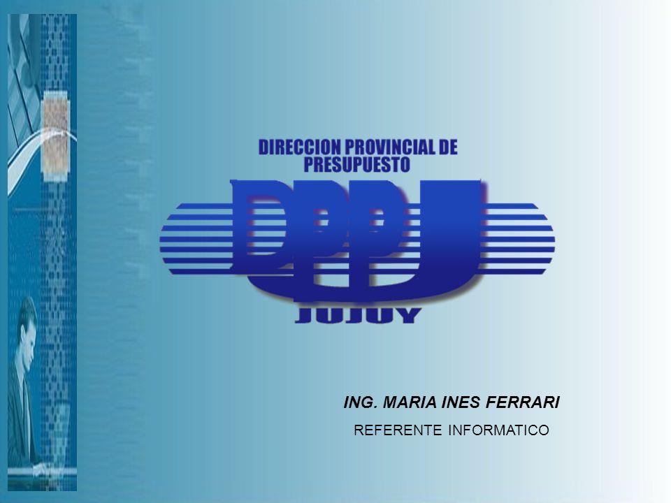 ING. MARIA INES FERRARI REFERENTE INFORMATICO