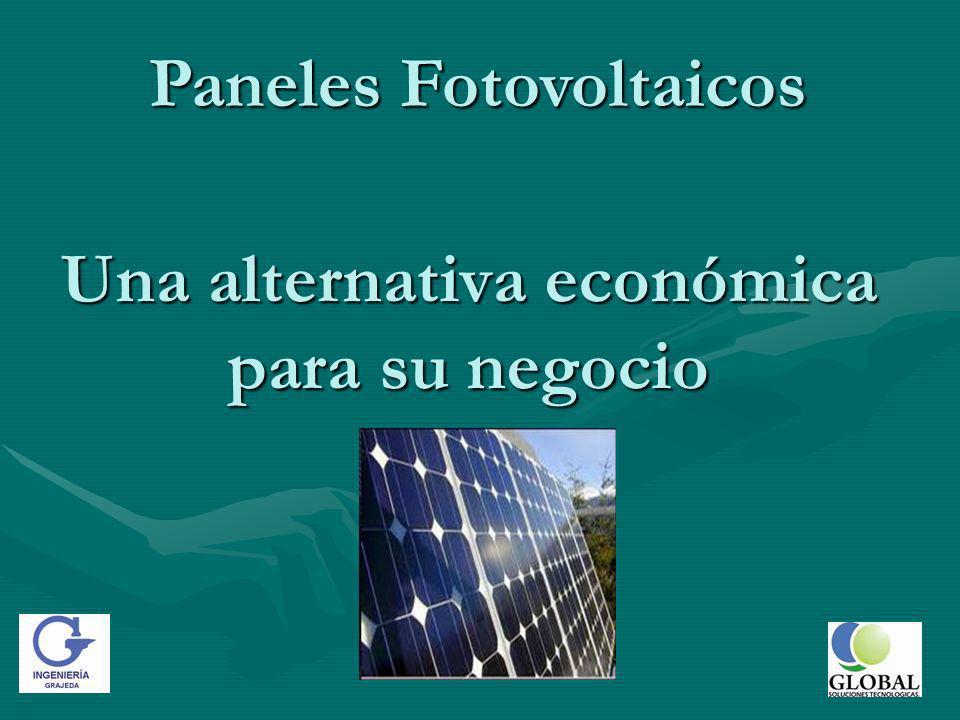 Una alternativa económica para su negocio Paneles Fotovoltaicos
