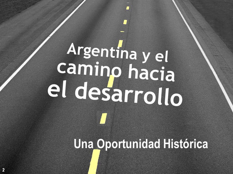 Argentina y el camino hacia el desarrollo Una Oportunidad Histórica 2