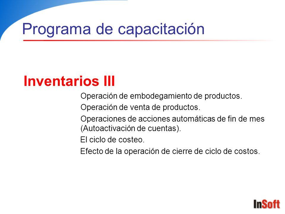 Conceptos Generales Que son grupos de inventarios.