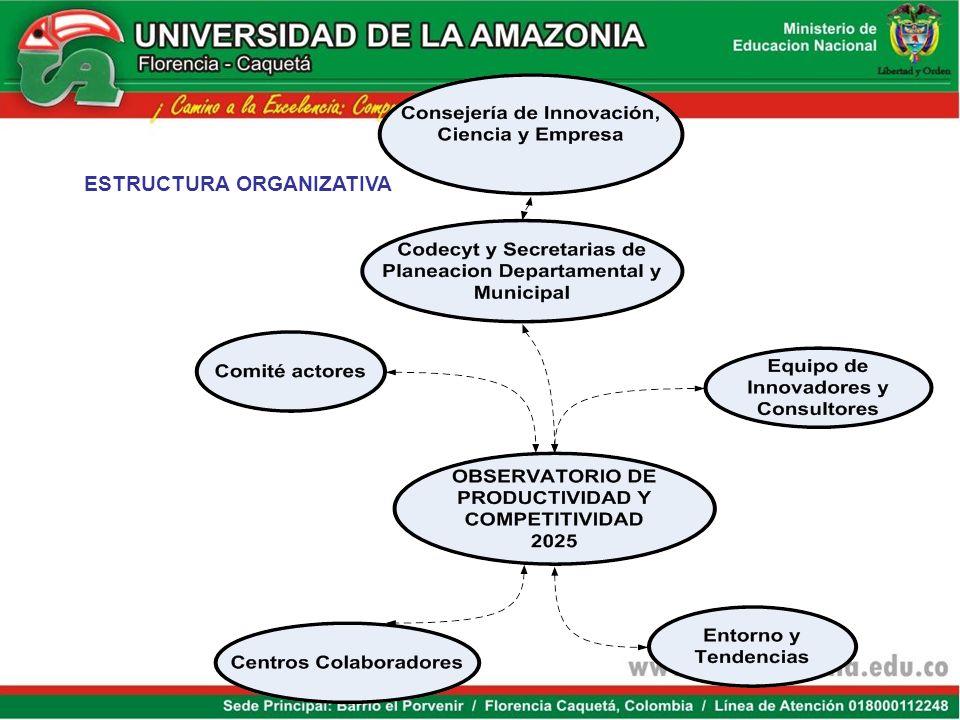 OPORTUNIDADESRETOS 1.Ubicación geoestratégica 2. Sistema regional ambiental 3. Ecorregion / formación avanzada 4. Servicios ambientales: 5.Redes de co