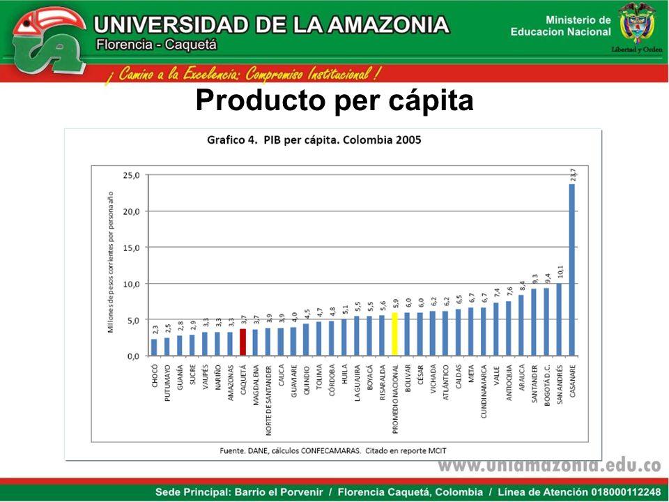 Producto per cápita