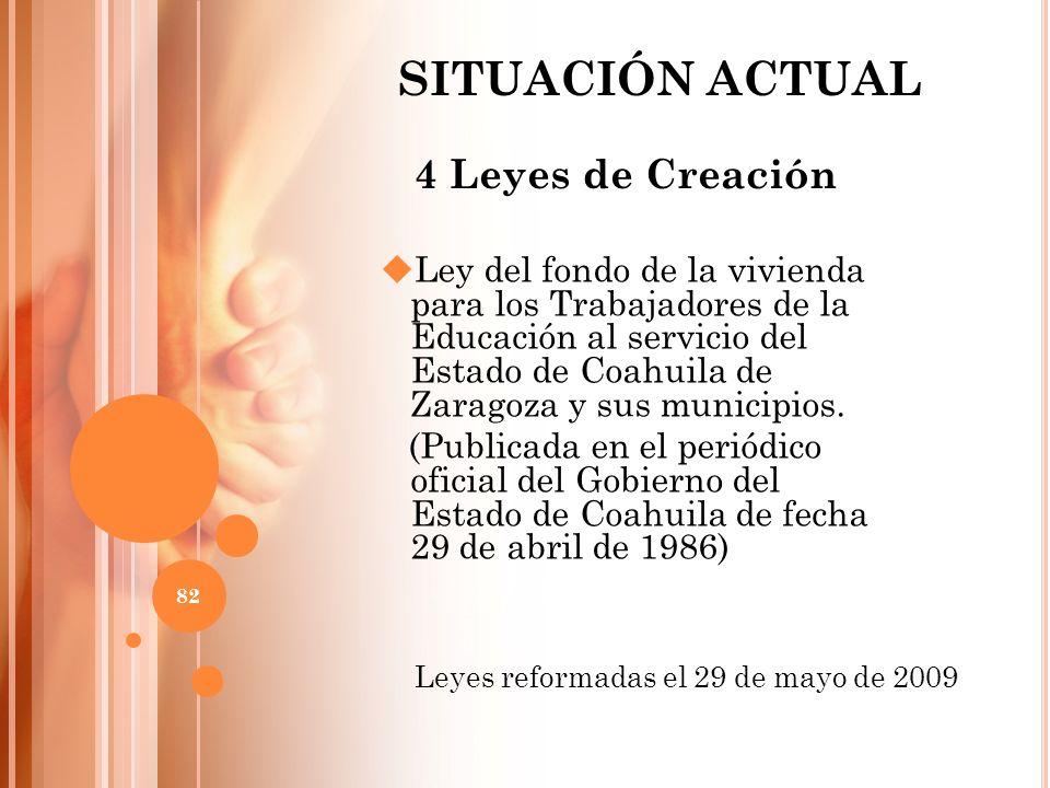Ley del fondo de la vivienda para los Trabajadores de la Educación al servicio del Estado de Coahuila de Zaragoza y sus municipios. (Publicada en el p