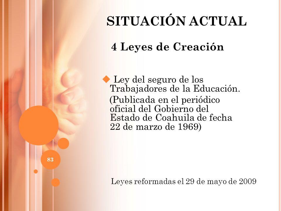 Ley del seguro de los Trabajadores de la Educación. (Publicada en el periódico oficial del Gobierno del Estado de Coahuila de fecha 22 de marzo de 196