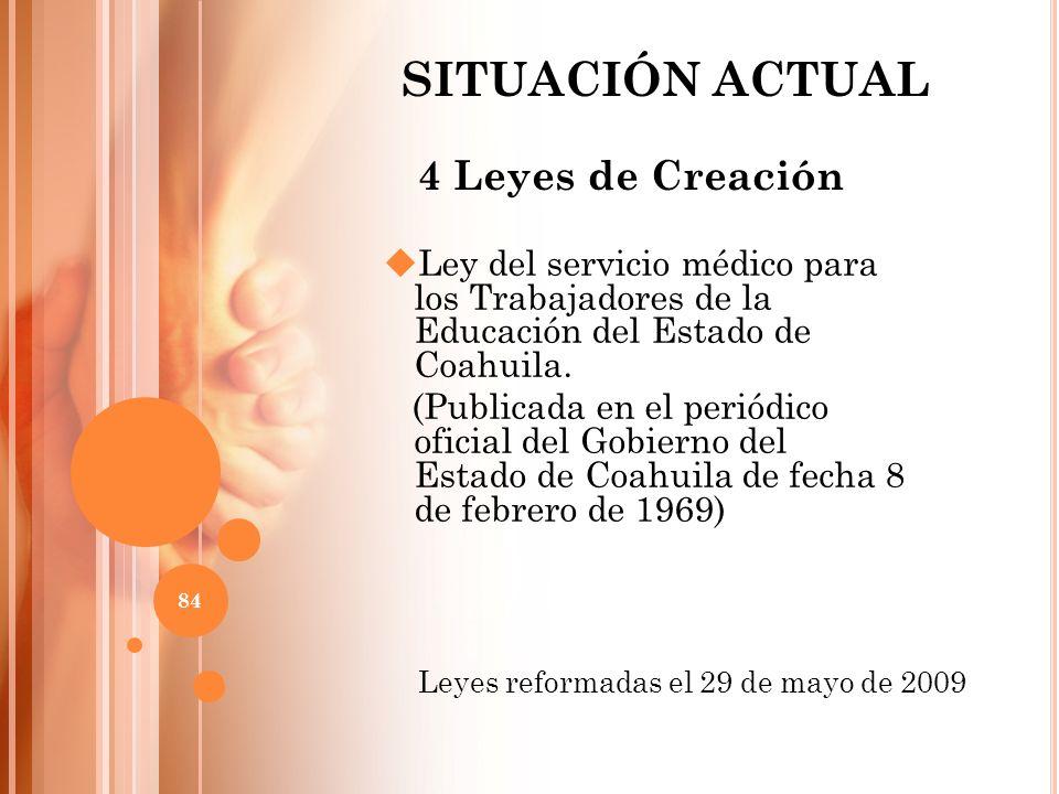 Ley del servicio médico para los Trabajadores de la Educación del Estado de Coahuila. (Publicada en el periódico oficial del Gobierno del Estado de Co