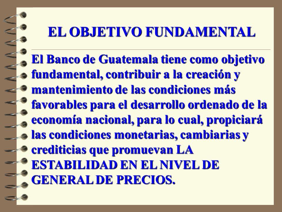 EL BANCO DE GUATEMALA COMO USUARIO DEL INDICE DE PRECIOS AL CONSUMIDOR PARA DISEÑAR Y DAR SEGUIMIENTO A LA POLTICA MONETARIA MARIO ALFREDO SALGUERO BANCO DE GUATEMALA