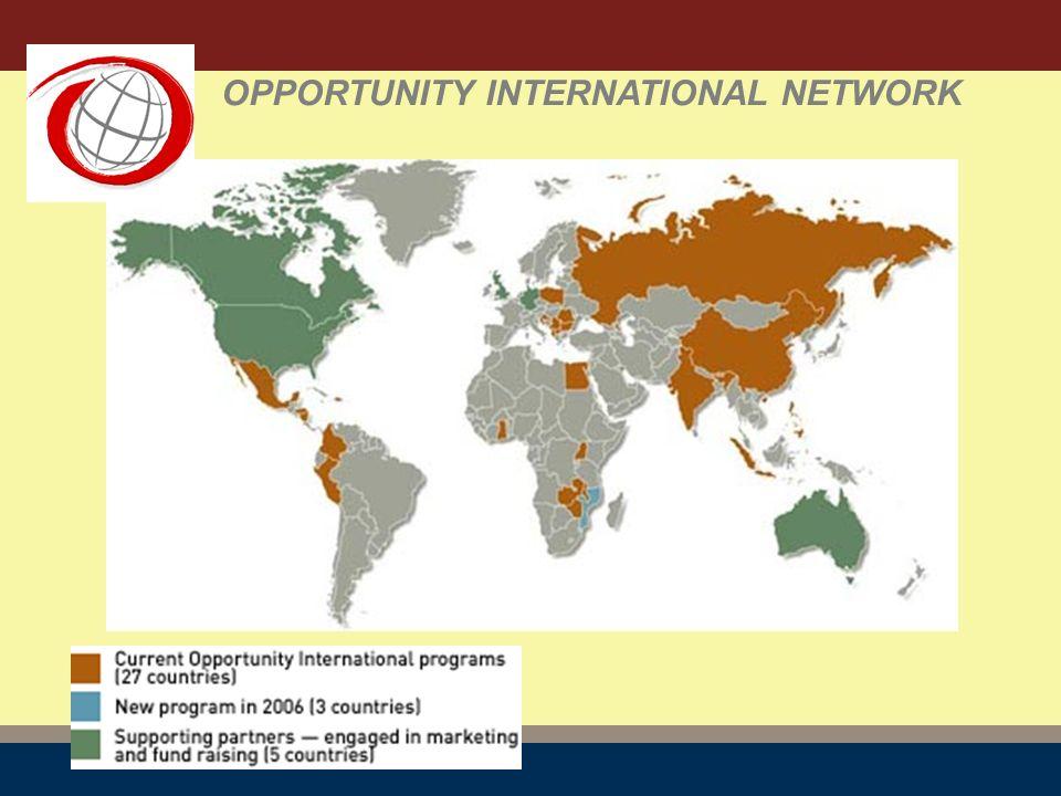 OPPORTUNITY INTERNATIONAL NETWORK