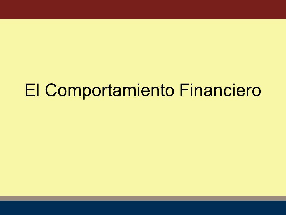 El Comportamiento Financiero
