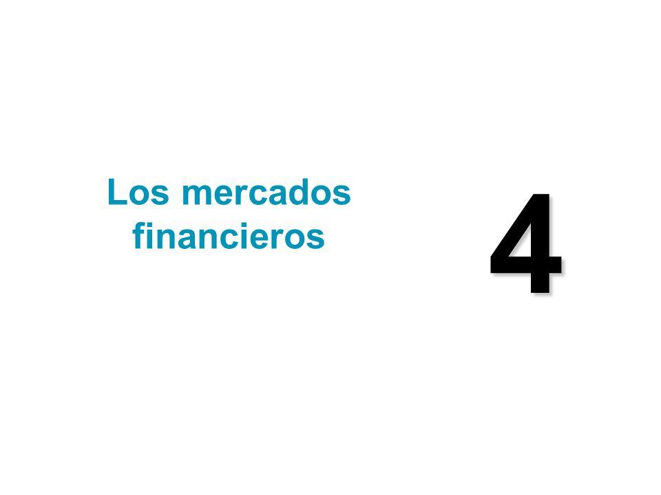 4 Los mercados financieros