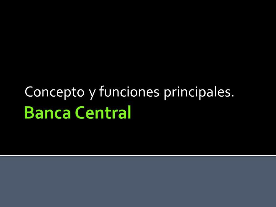 Concepto y funciones principales.