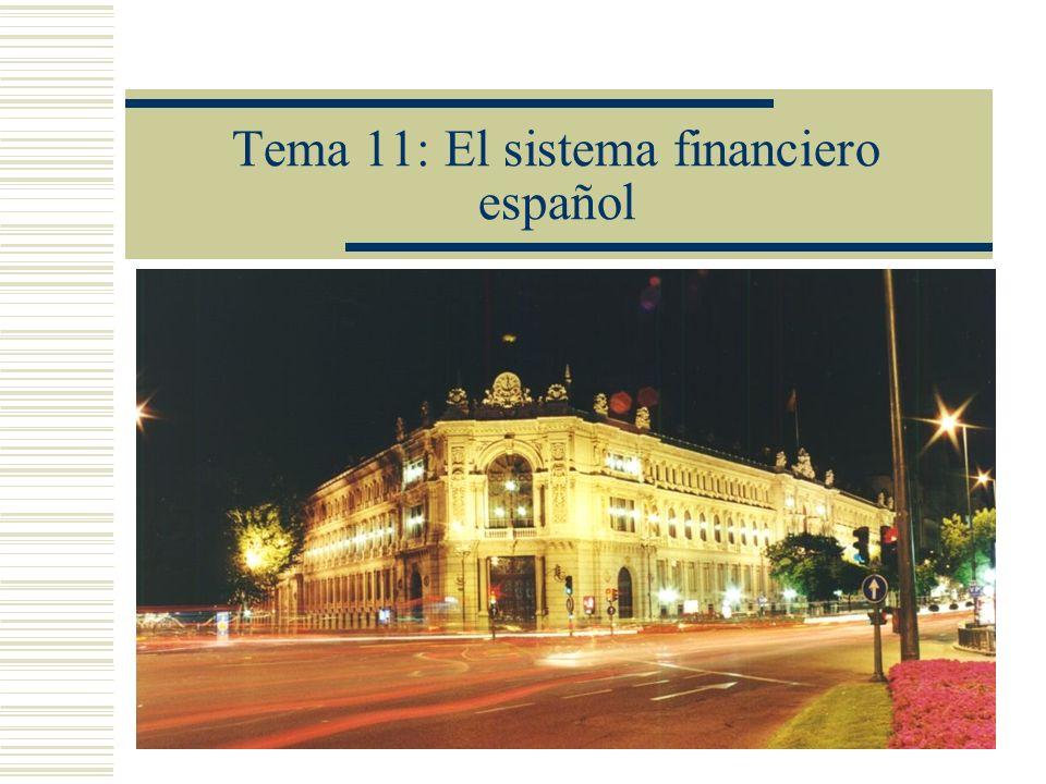 Orden de la presentación Introducción y definiciones Los activos financieros Los mercados financieros Los intermediarios financieros Bancarios No bancarios Regulación y competencia del sistema bancario Del Banco de España al Banco Central Europeo