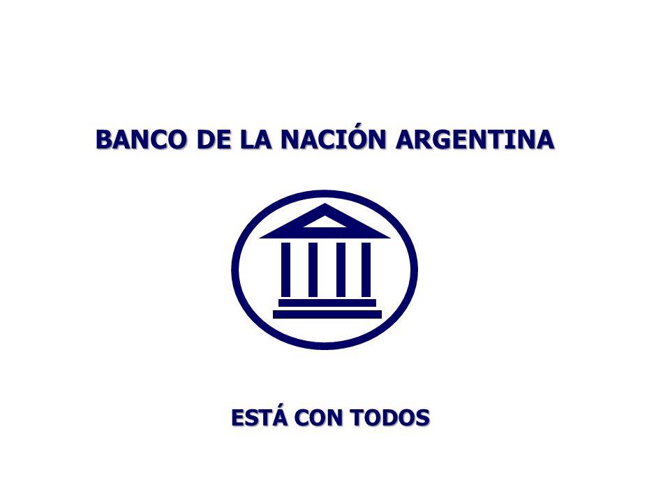 BANCO DE LA NACIÓN ARGENTINA ESTÁ CON TODOS
