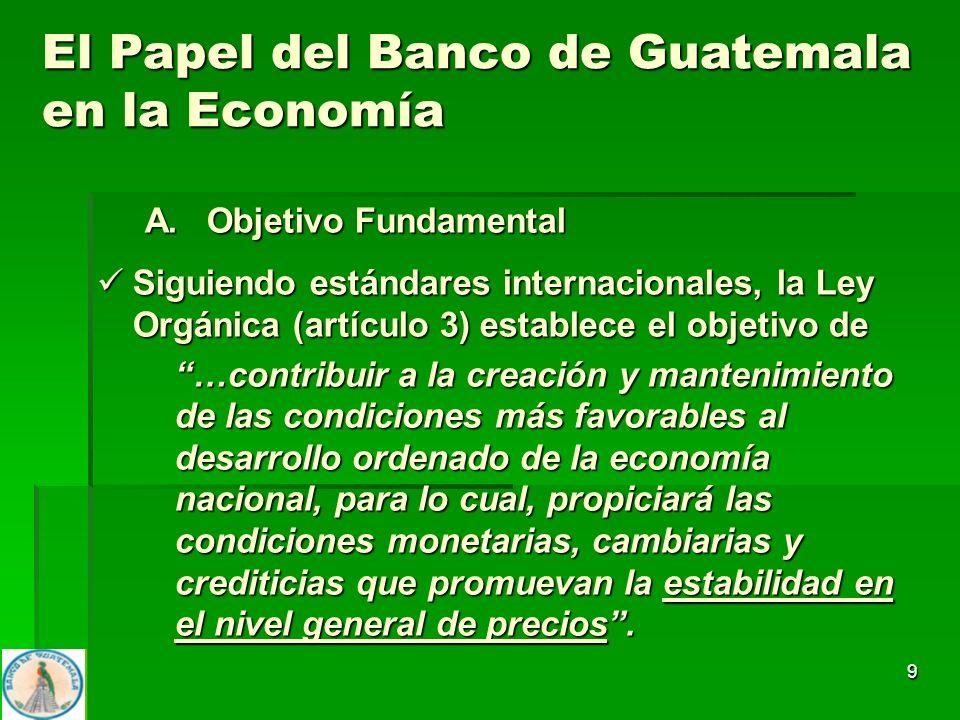 9 A. Objetivo Fundamental Siguiendo estándares internacionales, la Ley Orgánica (artículo 3) establece el objetivo de Siguiendo estándares internacion