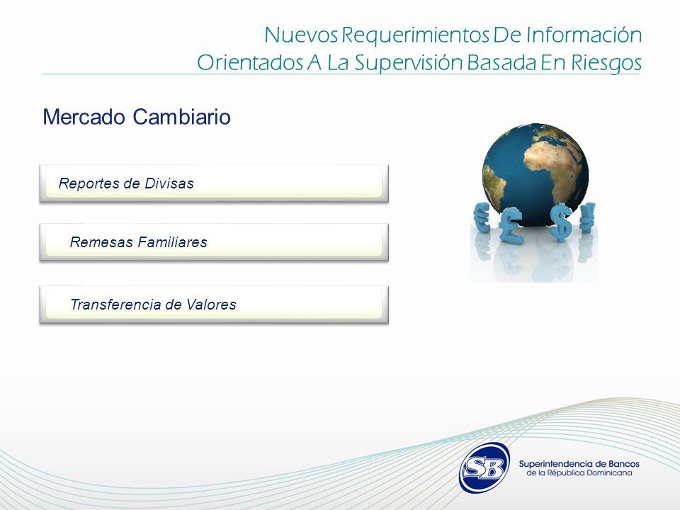 Nuevos Requerimientos De Información Orientados A La Supervisión Basada En Riesgos Mercado Cambiario Reportes de Divisas Remesas Familiares Transferencia de Valores