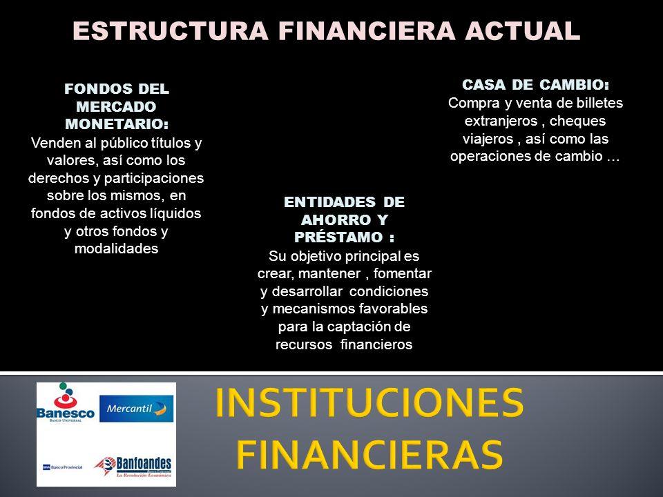 FUNCIONES DE LA BANCA BANCA UNIVERSAL O COMERCIAL CAPTACIÓN DEL PÚBLICO: Depósitos a plazos fijos y certificados de ahorro.