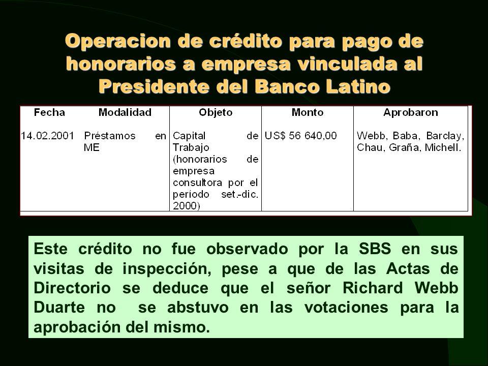 Tercera Etapa (octubre 2000 – abril 2001) Incorporación de un bloque patrimonial del Banco Latino al Interbank.