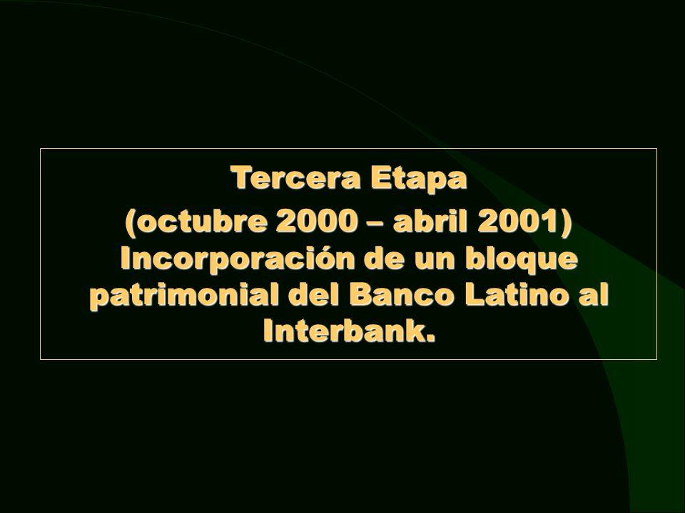 Decreto de Urgencia N° 108-2000 * El 27 de noviembre del 2000, mediante Decreto de Urgencia 108-2000, se creó el Programa de Consolidación del Sistema Financiero (PCSF), destinado a facilitar la absorción o fusión de bancos.