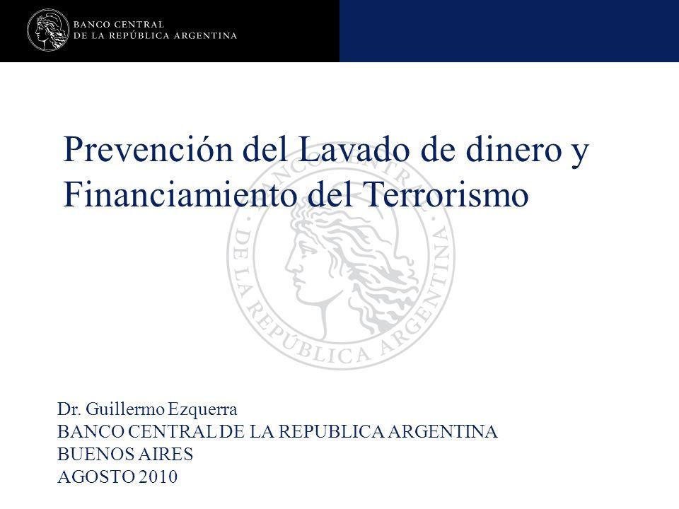 Caso Práctico Banco Central de la República Argentina Constitución de garantías sobre cartera irregular Período aprox.
