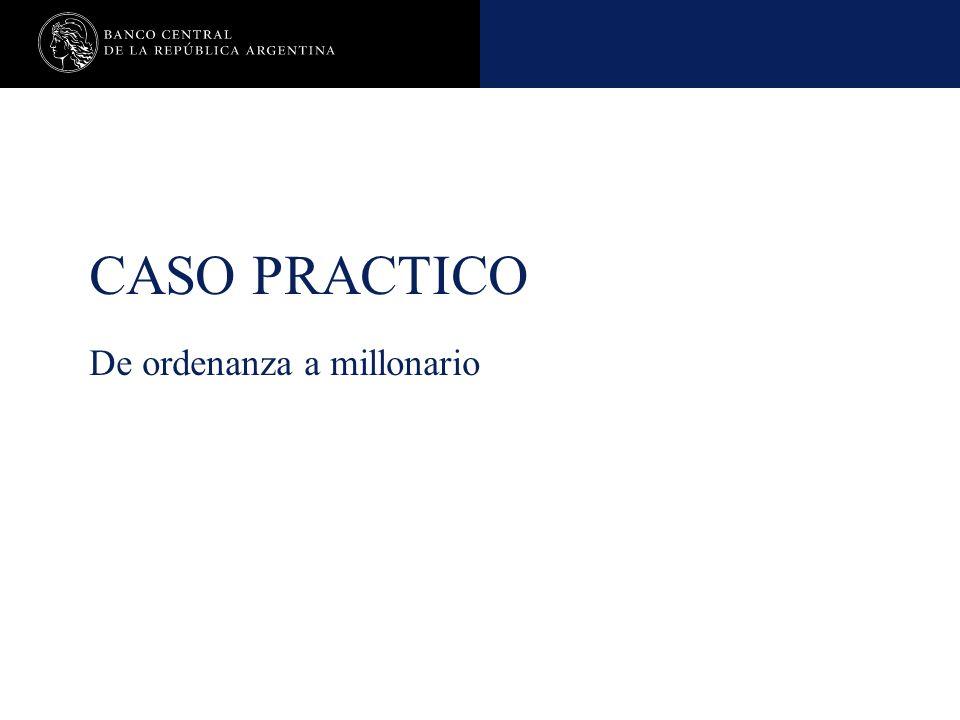 Caso Práctico Banco Central de la República Argentina FONDOS GROUP En que consistía la operatoria.
