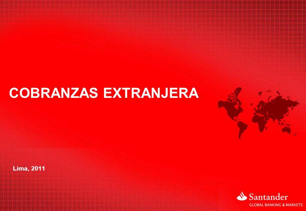 COBRANZAS EXTRANJERA Lima, 2011