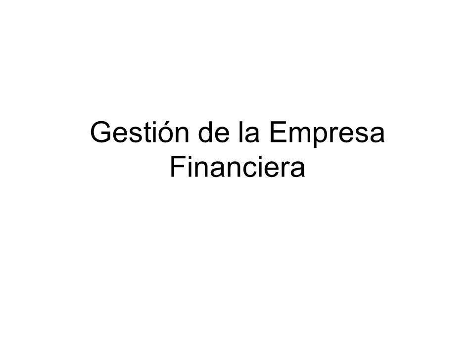 Gestión de la Empresa Financiera