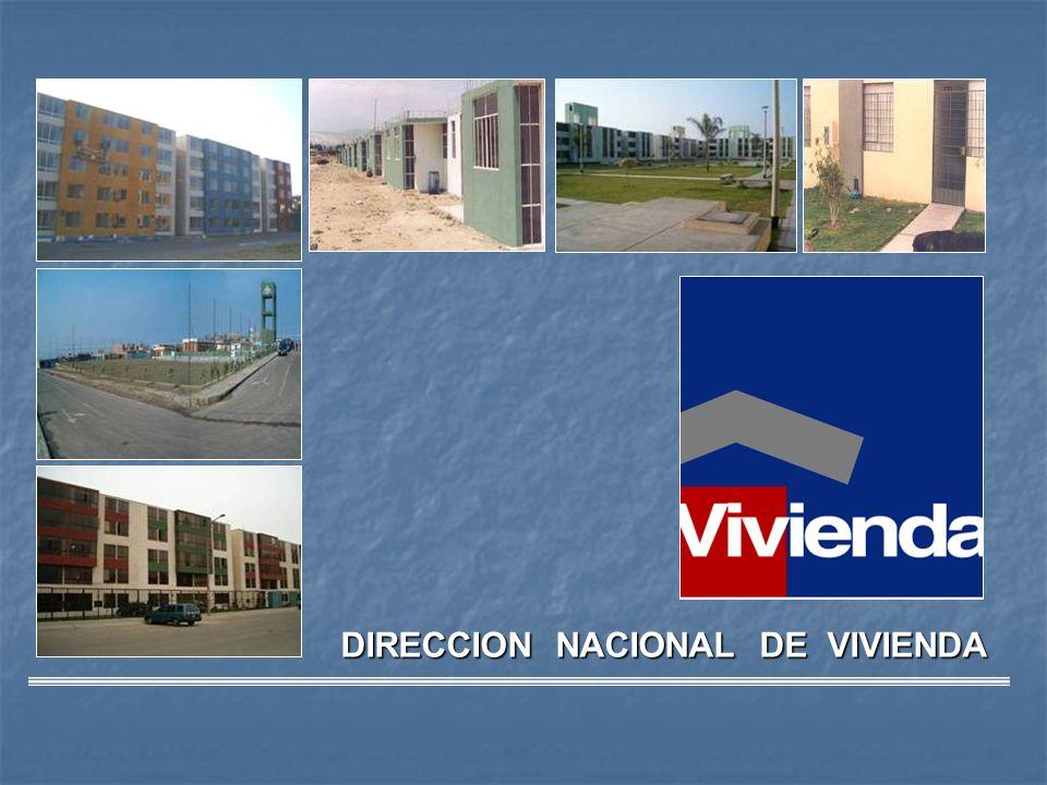 DIRECCION NACIONAL DE VIVIENDA