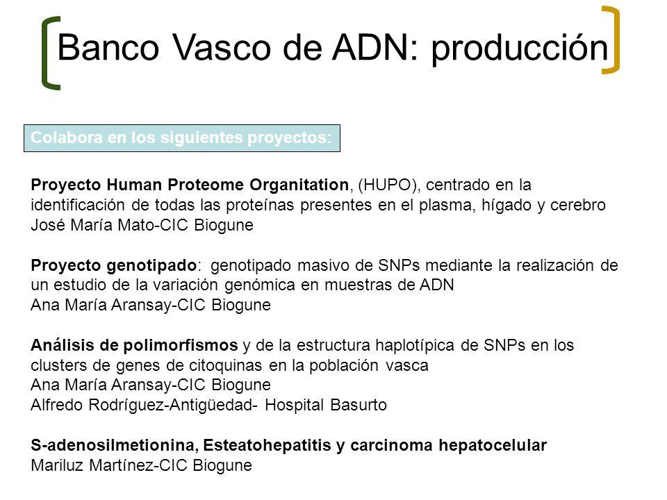 Colabora en los siguientes proyectos: Proyecto Human Proteome Organitation, (HUPO), centrado en la identificación de todas las proteínas presentes en