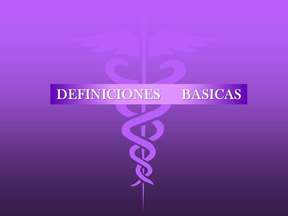 DEFINICIONES BASICAS