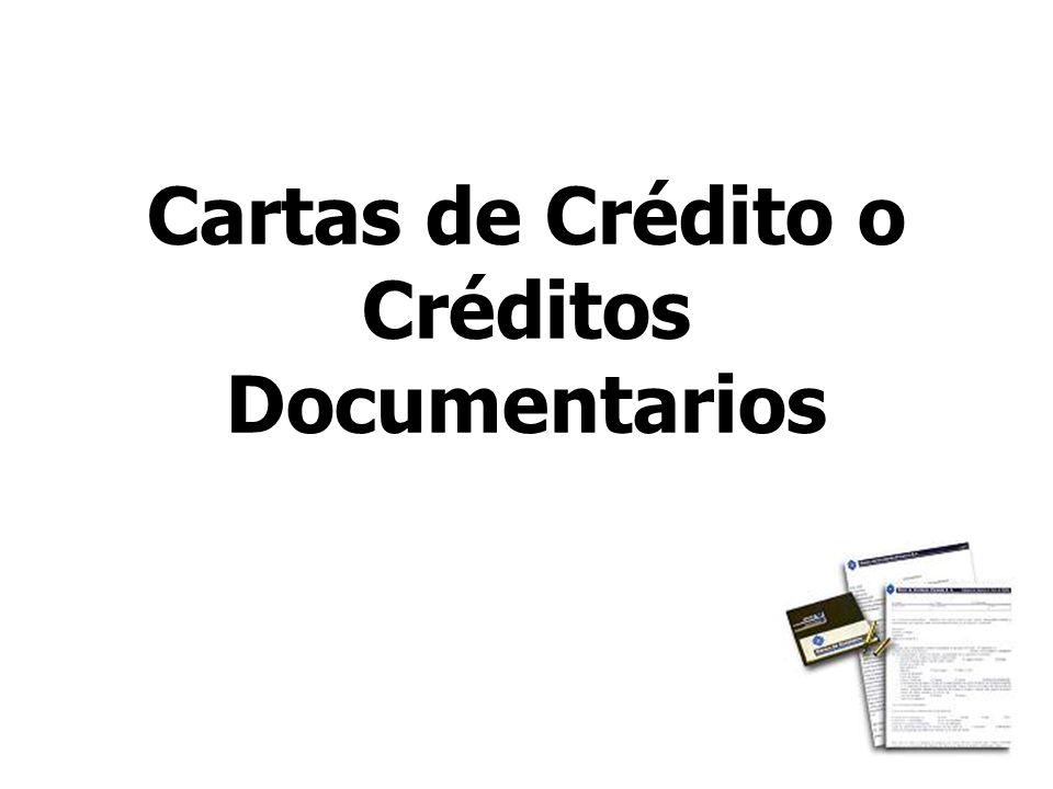 20 Cartas de Crédito o Créditos Documentarios