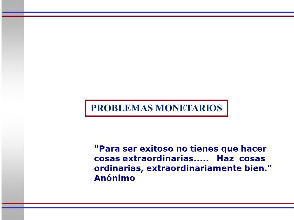 32 El cuadro anterior suministra información sobre los agregados monetarios más importantes de la economía venezolana en los últimos años, a los fines de compro- bar las fórmulas presentadas anteriormente.