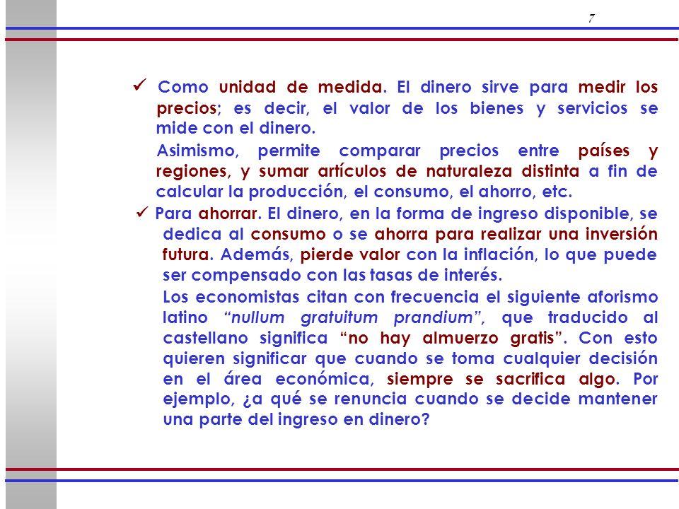48 Sistema Bancario Nuevos Créditos Reservas Legales Nuevos Depósitos Banco A9.0001.00010.000 Banco B8.1009009.000 Banco C7.2908108.100 Restantes65.