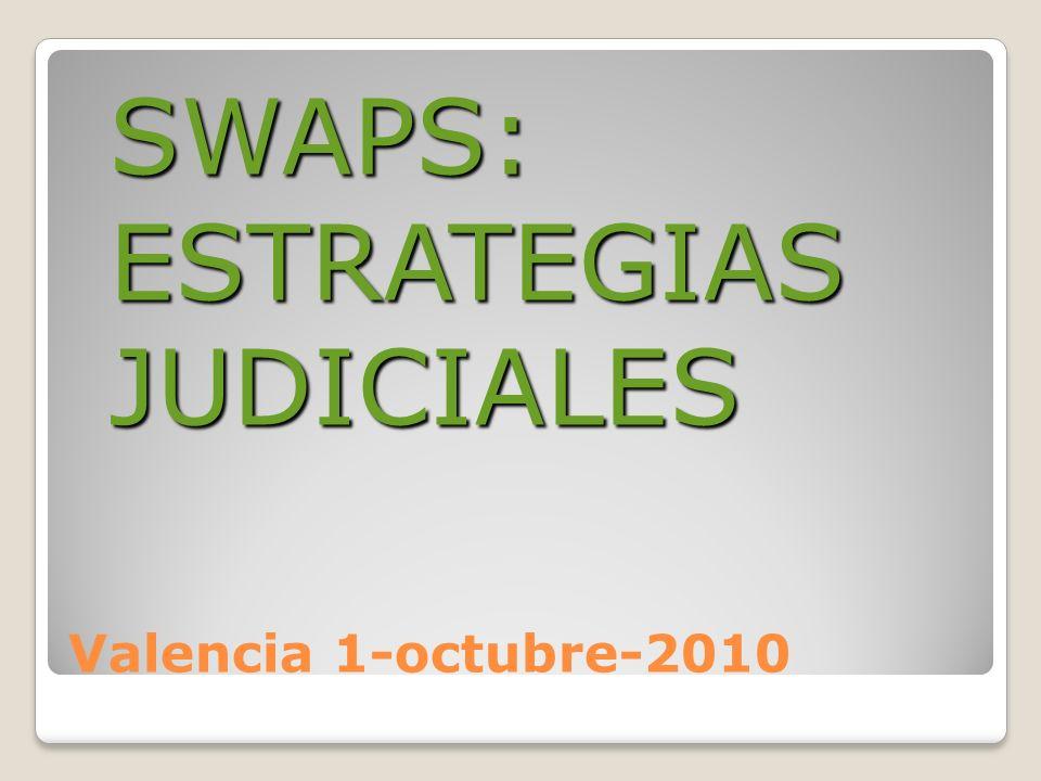 Testificales De todas aquellas personas que intervinieron en la negociación y firma del SWAP: Interesados.