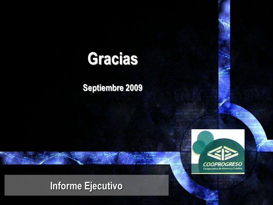 Gracias Septiembre 2009 Informe Ejecutivo