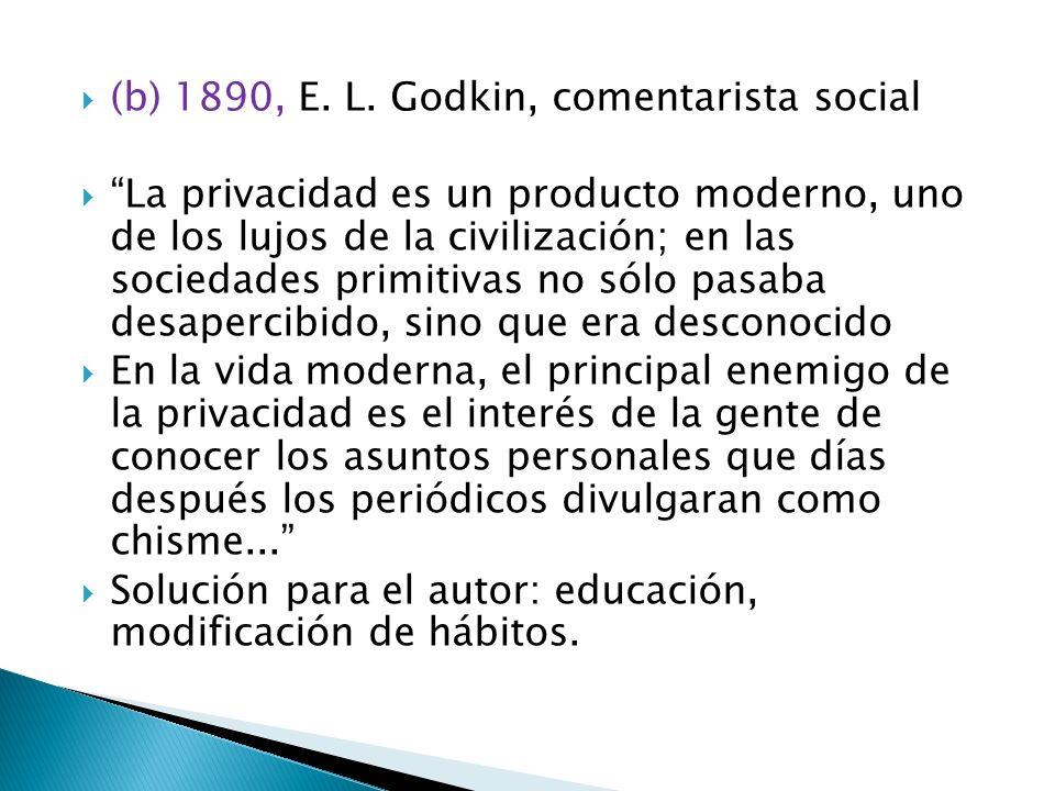 (b) 1890, E. L.