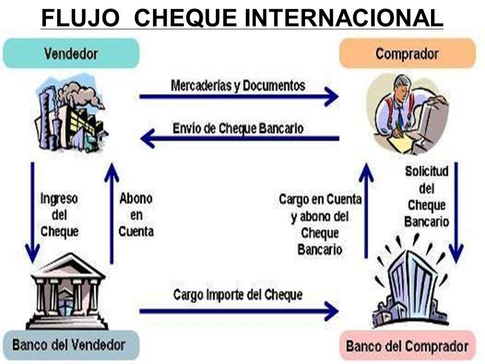 FLUJO CHEQUE INTERNACIONAL