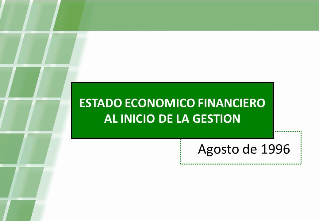 Acciones adoptadas Entre los principales asuntos que acompañaron la gestión del préstamo, se destacaban dos, que merecieron particular consideración: La constitución del Fondo de Estabilización y Desarrollo Económico Social (FEDES).
