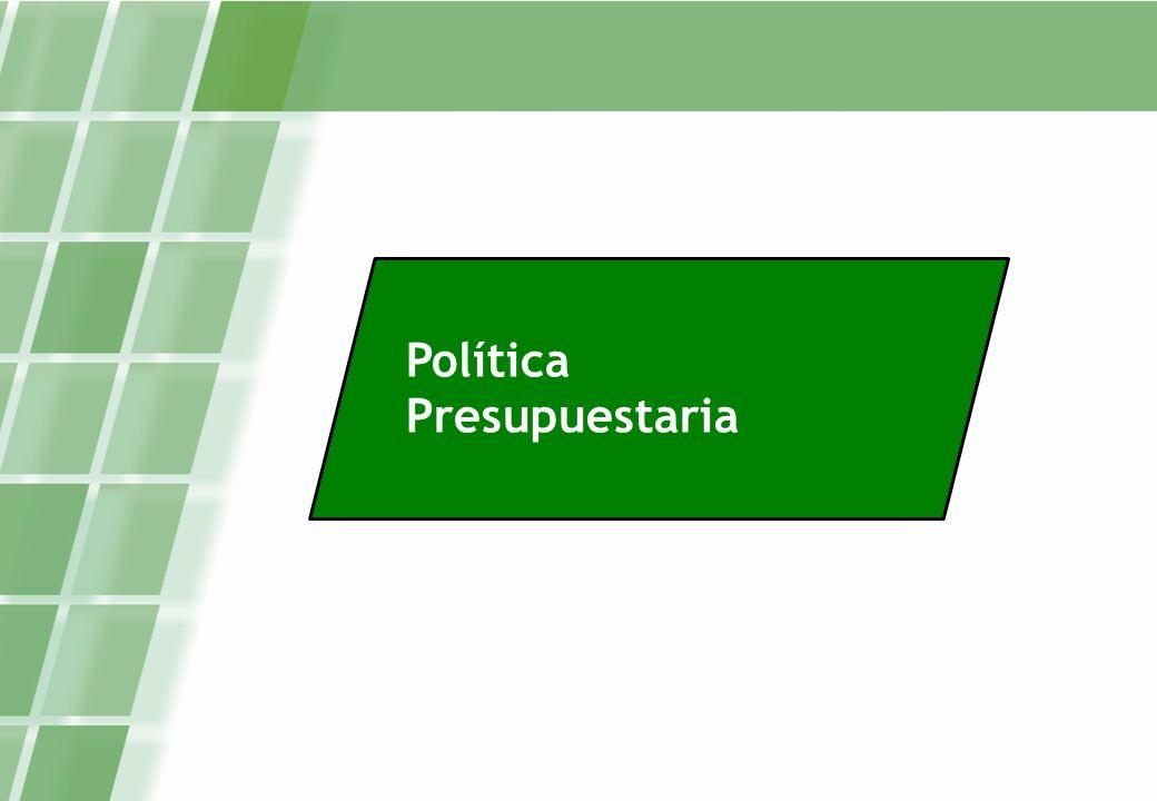 Política Presupuestaria
