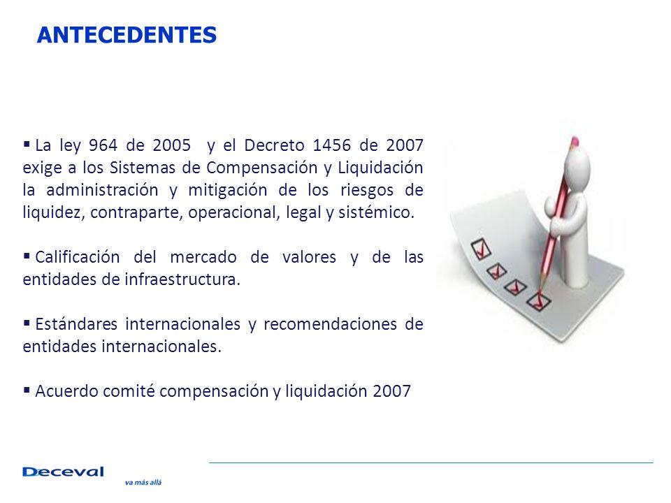 CARTA A DILIGENCIAR CON DESTINO AL BANCO DE LA REPUBLICA Doctor: JOAQUIN BERNAL RAMIREZ Subgerente de Operación Bancaria BANCO DE LA REPUBLICA Ciudad Manejo de la cuenta de depósito N° XXXXXXX Apreciado doctor: En mi calidad de ___________y, como tal, representante legal de (NOMBRE DE LA ENTIDAD) (en adelante, EL DEPOSITANTE), como consta en el certificado de existencia y representación expedido por la Superintendencia Financiera de Colombia que adjunto, me permito autorizar a DECEVAL S.A., sociedad anónima constituida mediante la escritura pública N° 10147, del 17 de noviembre de 1992, otorgada en la Notaria 4 del Círculo de Bogotá, con certificado de funcionamiento otorgado por la Superintendencia Financiera de Colombia mediante la Resolución N° 702 del 4 de junio de 1993, e identificada con el NIT 800182091-2, para realizar los siguientes actos en relación con la Cuenta de Depósito en pesos No.