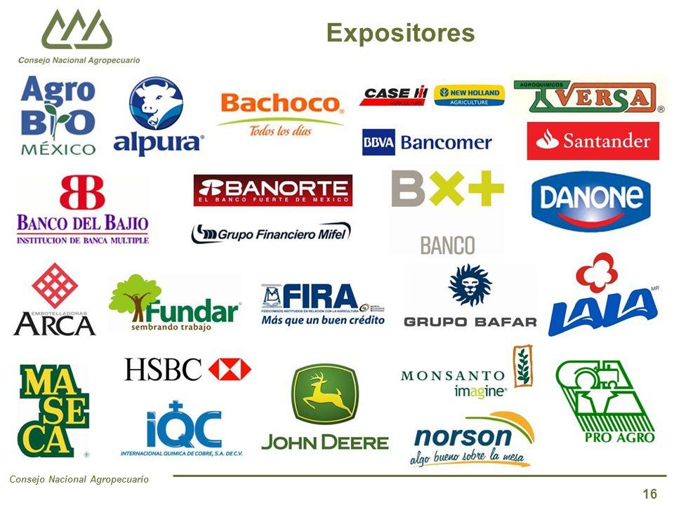 Consejo Nacional Agropecuario Expositores 16