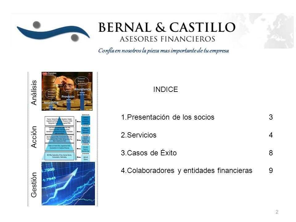 www.bcasesoresfinancieros.com Paseo de Reding, 43, 1 izq, Málaga.