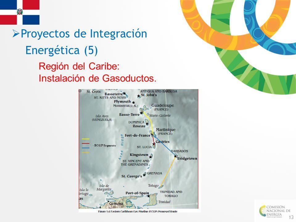 13 Región del Caribe: Instalación de Gasoductos. Proyectos de Integración Energética (5)